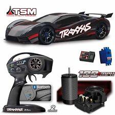 Traxxas 64077-3 XO-1 1/7 Supercar Brushless 4WD Black RTR w/ TQi / TSM / Module