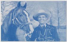 Gene Autry Cowboy Penny Arcade Card (GAE)