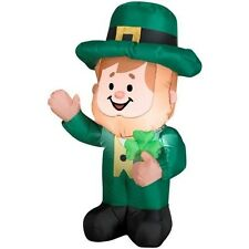 3 Foot Airblown St. Patrick's Day Leprechaun  Inflatable!!