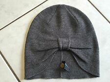 NEW---MIMCO WOMENS GREY WOOL BLEND BEANIE