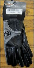 Harley Davidson New Ladies Storm Leather Lite Weight Riding Glove Extra Small