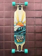 NEW Sector 9 Sentinel  Bamboo Sidewinder Longboard Skateboard Complete MSRP $235
