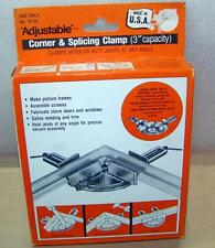 Adjustable Corner Splicing Clamp 9133 Miter Butt Joints Picture Frames Any Angle
