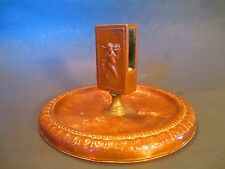Antique Match Box Holder  ANGEL  /  PUTTI   fire place tool - Candles & Matches
