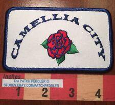 SOUVENIR PATCH ~ Camellia City ~ Sacramento CA Flower Celebration 5NA5
