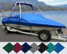 CUSTOM BOAT COVER CORRECT CRAFT 210 AIR NAUTIQUE TOWER SWIM PLATF I/O 2003-2006