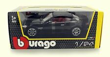 "Bburago 2008 Maserati GranTurismo 1:24 scale 8"""" diecast model car Black B08"