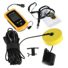 Free Shipping Portable Sonar LCD Fish Depth Fishing Finder Alarm 0.5m-100m