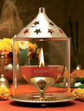 Borosil Akhand Diya - Brass(Small)  - Elegant and great choice for Gifting.....!