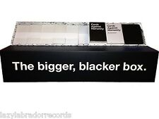 Cards Against Humanity - The Bigger Blacker Box - Brand New Sealed Storage