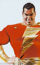 Shazam! Poster by Alex Ross Captain Marvel NEW SEALED