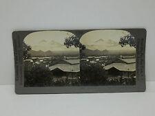 Keystone Stereoview #T240 Twin Volcanoes, Escuintla, Mexico 12872
