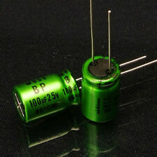 10PCS Japan NICHICON 100uF/25V High-end MUSE BP Audio Electrolytic Capacitor