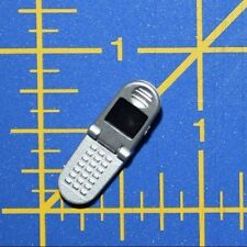 """1:6 Silver Flip Phone Cellphone for 12"""" Action Figures C-162"""