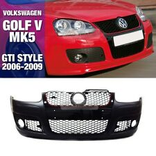GTI Style Front Bumper With Mesh Grille For VW 2006-09 Rabbit Jetta Golf 5th MK5