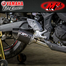 2016 16 YAMAHA YZF-R3 YZF R3 M4 STREET SLAYER CARBON FIBER SLIP ON EXHAUST