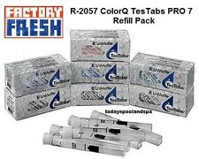 R-2057 ColorQ TesTabs PRO 7 Reagent Refill Pack Factory Fresh