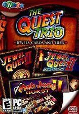 The Quest Trio: Jewel Quest II / Jewel Quest II: Solitaire / Mah Jong Quest IWi