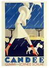 1920's Art Deco Swiss Footwear Advert Poster A3/A2/A1 Print