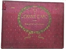 classic Art Nouveau French children's book Joan Jeanne d'Arc Boutet de Monvel