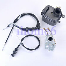 Carburetor for Y-Zinger Yamaha PW50 W/ Air Filter Throttle / Choke Cable USA
