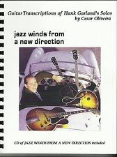 Hank Garland transcriptions book  jazz winds with CD included Jazz Guitar Legend