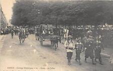 CPA 54 NANCY CORTEGE HISTORIQUE 1909 GROUPE DE CALLOT
