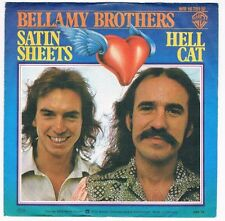 "Bellamy Brothers-Satin sheets/Hell cat/7"" Single von 1976"