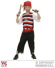 Childrens Pirate Fancy Dress Costume Jack Sparrow Outfit 11-13 Yrs
