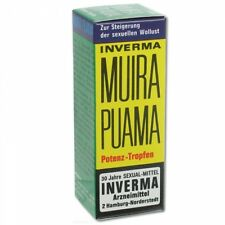 MUIRA PUAMA Inverma Aphrodisiac Orgasm Erection Enhancer POTENT WOOD TONIC