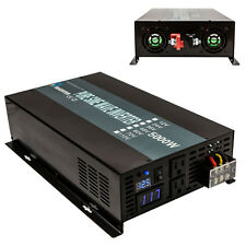 Off Grid 12V/24V/36V/48V DC to 120V/220V AC Pure Sine Wave 5000W Power Inverter