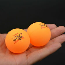 100Pcs DOUBLE FISH 3-Stars 40mm Olympic Table Tennis Orange Ping Pong Balls