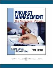 Project Management: the Managerial Process, Erik Larson, Good Book