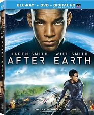 After Earth (Blu-ray/DVD, 2013, 2-Disc Set, Includes Digital Copy; UltraViolet)