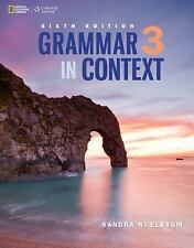 NEW - Grammar in Context 3 (Grammar in Context, New Edition)