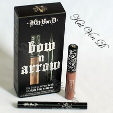 Genuine KAT VON D Bow N Arrow Set ✯ Deluxe Liquid Lipstick & Tattoo Liner Duo