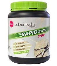 =  Celebrity Slim Rapid Weight Loss Low Sugar Vanilla Flavour (21 Serves) 672G