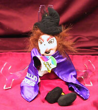 LE ED H.R PUFNSTUF PUFF N STUFF WITCHIEPOO PLUSH SID AND MARTY KROFFT SUPERSTARS
