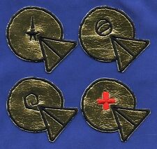 Classic TOS Star Trek USS Intrepid Embroidered Patch Set
