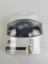 Petzl Active Series Tikka XP 120 lumens headlamp Black/light Gray