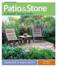 Patio & Stone: A Sunset Design Guide, Tom Wilhite, Very Good Book