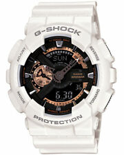 G-Shock Mens White & Rose Gold Watch. BESTSELLER. Look Smart. GA110RG-7A