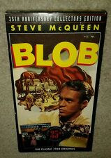 THE BLOB, VHS, 1958 STEVE MCQUEEN SCI FI CULT FILM, play tested