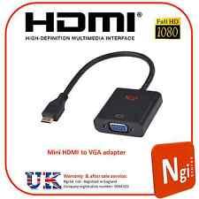 Mini HDMI Male to VGA Female Adapter Convetrter Cable