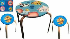 Disney Animal Friends Kindertisch + 2 Hocker Tischgruppe Kindermöbel Sitzgruppe