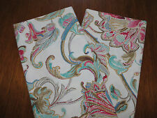 Ralph Lauren  Antigua Floral KING Pillowcases 2 (Two) New