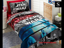 """SINGLE BED STAR WARS  """" CONFLICT """" LICENSED QUILT DOONA COVER SET + PILLOWCASE"""