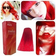 BERINA HAIR COLOR CREAM HAIR DYE BRIGHT RED COLOR A23 PERMANENT HAIR DYE
