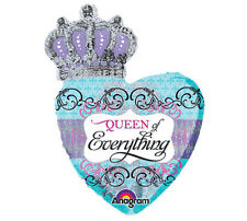 QUEEN OF EVERYTHING Bridal Shower Birthday Graduation Party Mylar Balloon