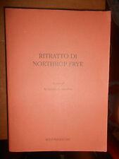 AGOSTINO LOMBARDO-RITRATTO DI NORTHROP FRYE-